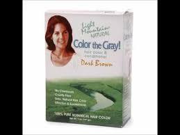 light mountain natural hair color black light mountain natural color the gray hair color conditioner kit