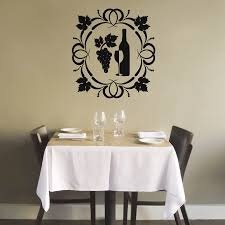 Grapes Home Decor Online Get Cheap Wine And Grapes Kitchen Wall Sticker Aliexpress