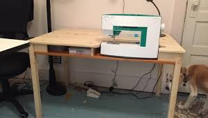 Folding Sewing Machine Table Ikea Ingo To Sewing Table With Storage Ikea Hackers Ikea Hackers