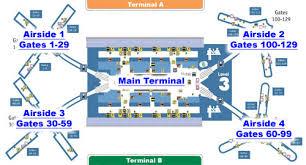 mco terminal map orlando international airport terminal info