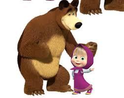 masha bear digital etsy