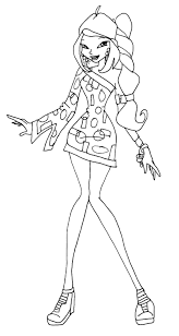 games immagini winx da stampare coloring pages for kids free