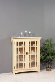 solid wood bookcase with glass doors amish bookcase with glass