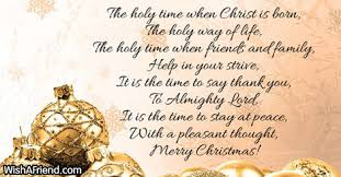 holy christmas christmas poem church