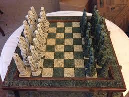 best beautiful chess set aztecs vs spanish conquistadors for