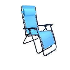 Turquoise Lounge Chair Shop Garden Treasures Blue Folding Patio Zero Gravity Chair At
