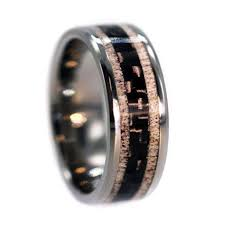 Deer Antler Wedding Rings by Custom Made Engagement Rings And Wedding Band Sets By