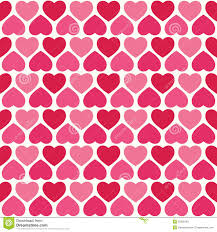 pretty wrapping paper seamless hearts pattern in pink and stock vector