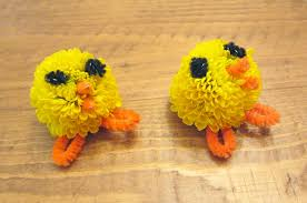 Easter Decorations Us by Easter Craft Miniature Mum Chicks We Know Stuff