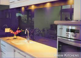 Glass Kitchen Backsplash  Glass Backsplashes - Sheet glass backsplash