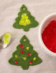 stained glass cookies edible ornaments