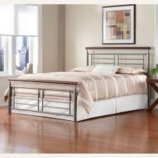 fontane iron bed in silver cherry metal humble abode