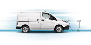 nissan commercial logo nissan e nv200 electric van nissan