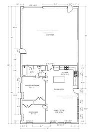 shop with apartment floor plans shop apartment plans metal barn house floor plans free home