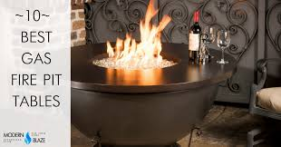 Firepit Gas 10 Best Gas Pit Tables For Your Backyard Modern Blaze