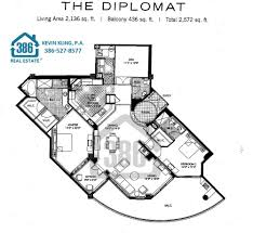 ocean villas condos floor plans daytona beach shores