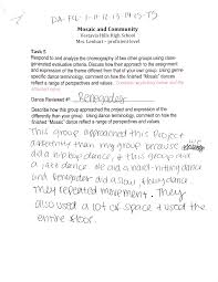 Sample Letter Of Intent To Rent A Space by Dance High Proficient National Core Arts Standards