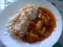 cuisiner riz recette de riz poulet aigre douce