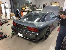 custom nissan 180sx nissan 180sx 240sx s13 89 98 ducktail wing wideworks scale