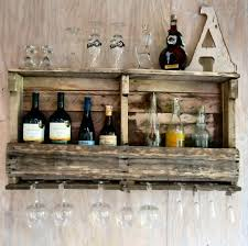 wall wine rack the decorative rack that has glass holder