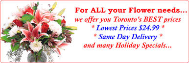 Delivery Flower Service - toronto flower delivery services and toronto flowers delivery