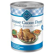blue buffalo blue sunday chicken dinner canned dog food petco