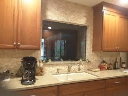 Custom Kitchen Backsplash Beautiful Kitchen Backsplash Ledgestone Intended Decor Within