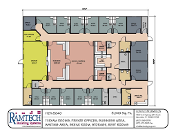 Floor Plan Of Office Building Modular Medical Building Floor Plans Healthcare Clinics U0026 Offices