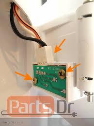 whirlpool ice maker red light flashing w10757851 ice level optics board diagnostics replacement