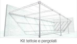 tralicci in ferro kit per tettoie e pergolati tettofacile