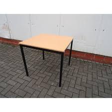 Schreibtisch B Otisch 1x Kantinentisch Schreibtisch Bürotisch Tisch 800x800 Mm