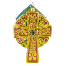christopher radko celtic blessings glass ornament sbkgifts com