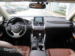 lexus nx richmond used 2015 lexus nx 200t for sale in richmond bc openroad lexus