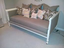 daybeds making daybed from twin easy diy hanging build the frame
