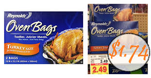turkey bags reynold s oven turkey bags coupon smith s sale only 1 74