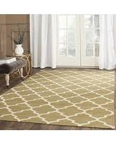 8x10 Wool Area Rugs Great Deals On Safavieh Dhurries Collection Dhu205a Hand Woven
