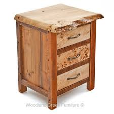 natural wood end tables u0026 nightstands archives woodland creek
