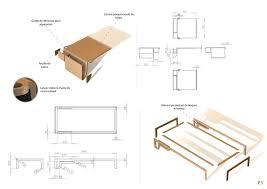 plan pour fabriquer un bureau en bois fabriquer un lit en bois plan maison design bahbe com