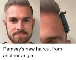 Hair Cut Meme - ramsey s new haircut from another angle haircut meme on me me