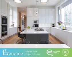 white kitchen cabinets grey island china modern style high gloss white with grey mfc island