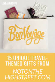 15 unique travel themed gifts from not on the high street