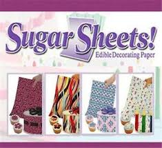 edible sheets sugar sheets edible decorating paper from wilton choose the