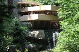 Frank Lloyd Wright Falling Water Interior Frozen Fallingwater Francine In Retirement