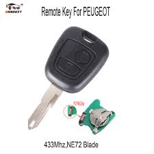 pijot car popular peugeot car key buy cheap peugeot car key lots from china