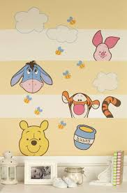 disney baby peeking pooh wall decals toys disney baby peeking pooh wall decals