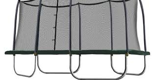 trampolines black friday spring rectangle trampoline and trampolines on pinterest
