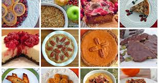 gourmet cooks 16 thanksgiving dessert recipes low carb