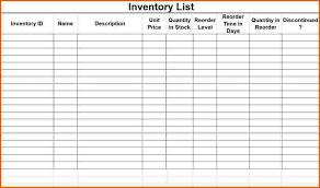 inventory list preventive maintenance software inventory list