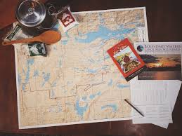 Bwca Map How To Plan For A Boundary Waters Canoe Camping Trip Pt1