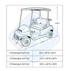 all weather protection waterproof club car golf cart rain cover